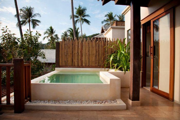 Tamaños de piscinas para terrazas