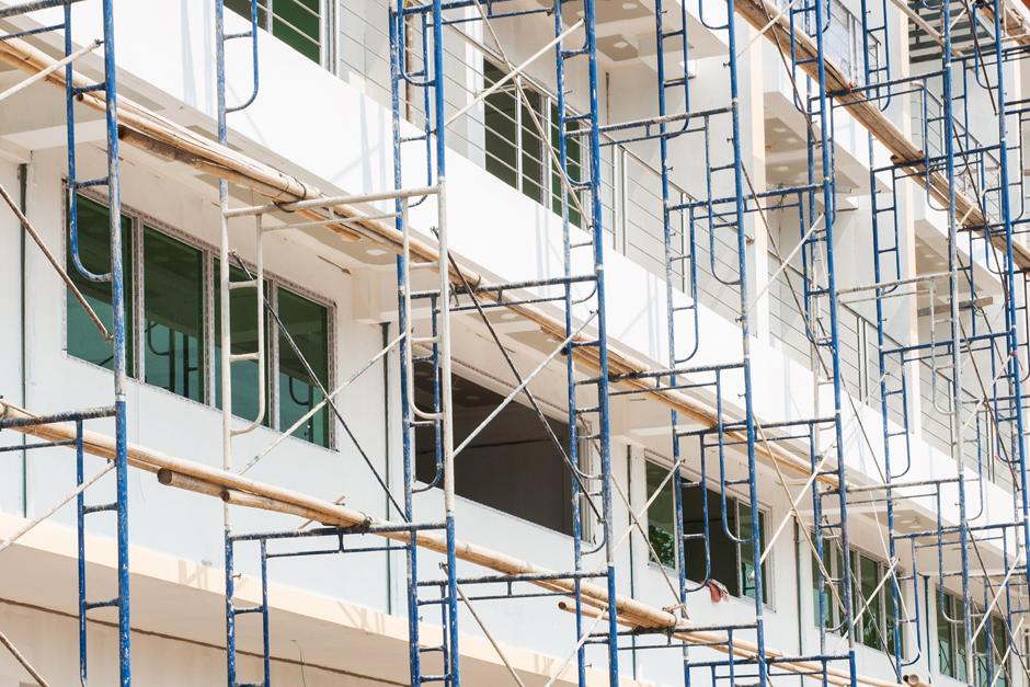 Sistema SATE para rehabilitación de fachadas