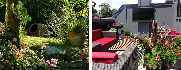 reformar el jardín y terraza