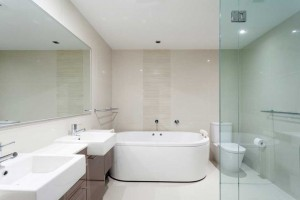 Decoración de baño estilo hotel