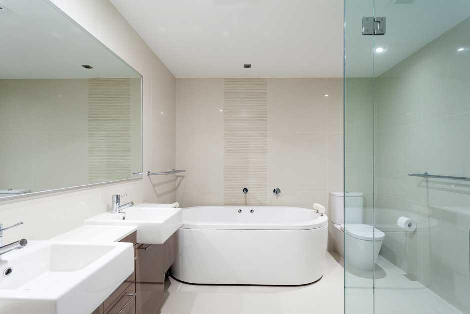 Decoración de cuartos de baño estilo hotel