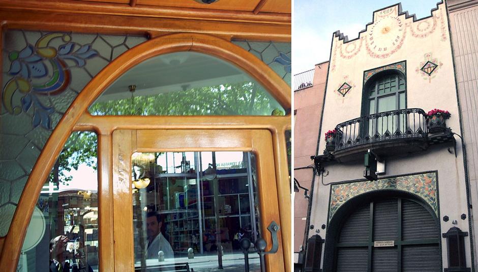 fachada de Casa Catalonia_Terrassa Confiteria Vidua Carne