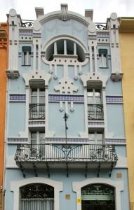 Fachada de casa Clapes en Granollers