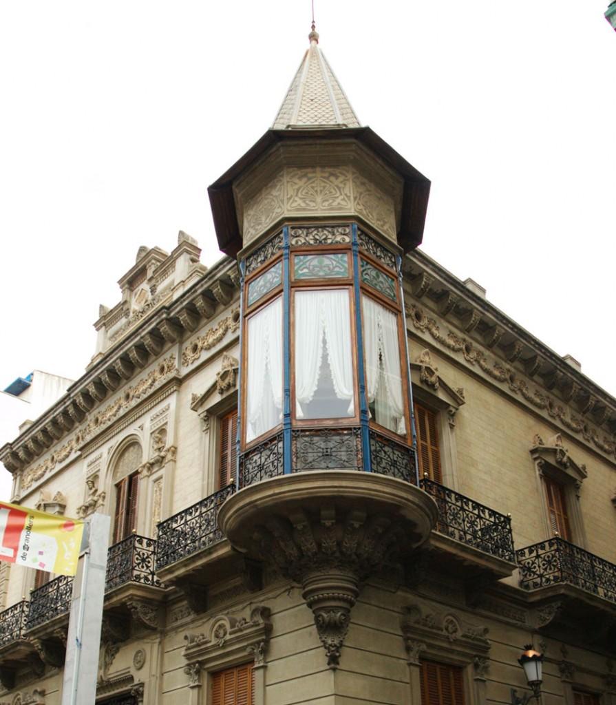 Fachada de Casa Torrebadella - granollers